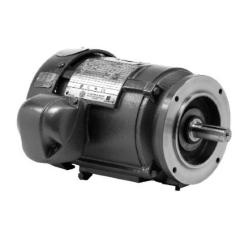 3 HP 1200 RPM 213TC Footless TEFC 3PH IEEE 841 US Motors 8P3P3CCR