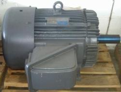 125 HP TECO Motor 1800 RPM 444T Frame TEFC