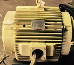 75 HP Reliance Joy Fan Motor 1200 RPM 405TCZ Frame TEAO