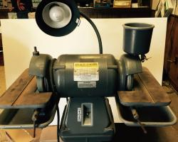 "6"" Baldor 500 Carbide Tool Grinder w/ Pedestal"
