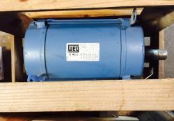 7-1/2 HP WEG 1800 RPM 213T Frame ODP