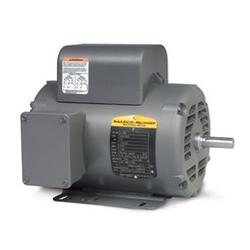 5 HP Baldor 1800 RPM 184T ODP Air Compressor Motor