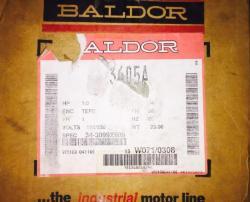 1/3 HP Baldor 3600 RPM 56J Frame TEFC