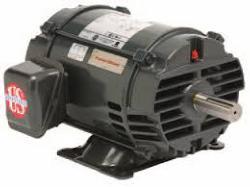 5 HP US Motor 3600 RPM 182T Frame ODP - Cat. D5P1D