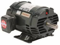 15 HP US Motor 1800 RPM 254T Frame ODP - Cat. D15P2H