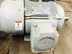 7-1/2 HP Siemens Motor 1800 RPM 213T Frame TEFC