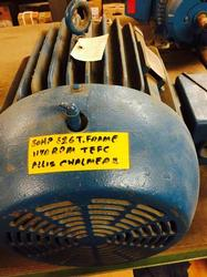 30 HP Allis Chalmers Motor 1200 RPM 326T Frame TEFC