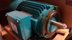 1 HP Brook Crompton 1800 RPM 143TC Frame TEFC Hostile Duty