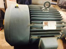 5 HP Reliance XEX Motor 1800 RPM 184T Frame TEFC