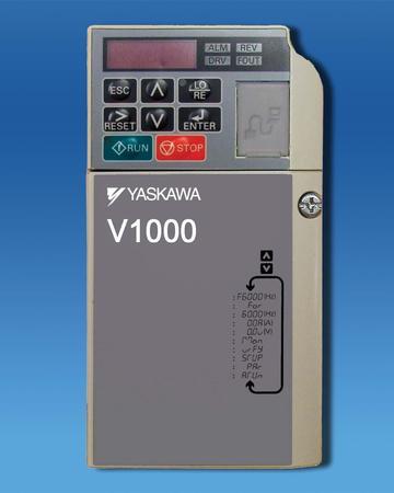 3 HP Yaskawa VFD V1000 CIMR-VUBA0012FAA   Willier