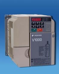 1/2 HP Yaskawa VFD Normal Duty V1000 Nema 1 Enclosure 3 Phase CIMR-VU2A0004FAA