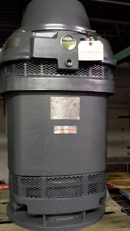 75 Hp Us Vertical Hollow Shaft 365tp Willier Electric