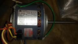 1/4 HP Emerson Motor 1625 RPM 3 speed 48Y Frame TEAO