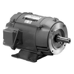 1 1/2 HP US Motors Close Coupled Pump Motor 3600 RPM 143JM Frame ODP