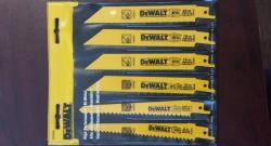 "Dewalt 6"" Bi-Metal Reciprocating Saw Blade Set DW4856"