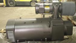 40 HP Baldor DC Motor with Blower Cooled 1800 RPM AD2810AT Frame