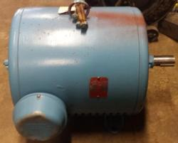 100 HP Lincoln Electric 1800 RPM 444US Frame ODP