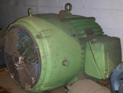 125 HP US Motor 3600 RPM 444TS Frame TEFC