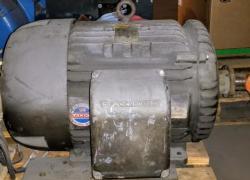 20 HP Baldor Motor 1200 RPM 286T Frame TEFC