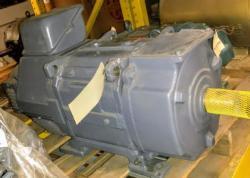 20 HP 15KW Yaskawa DC Motor 1200 RPM 160CT Frame TEFC