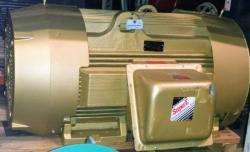 200 HP Baldor Motor 1200 RPM 449T Frame TEFC