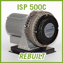 ANEST IWATA ISP 500C Dry Scroll Vacuum Pump - REBUILT