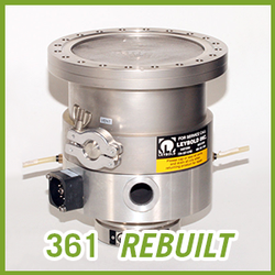 Leybold Vacuum TURBOVAC 361 Turbo Pump - REBUILT