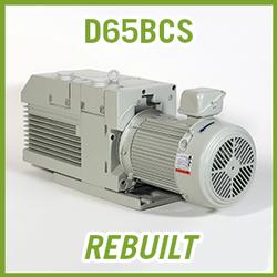 Leybold TRIVAC D65BCS Vacuum Pump - REBUILT