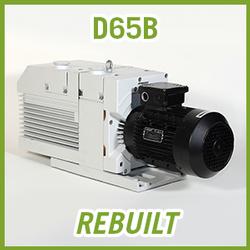 Leybold TRIVAC D65B Vacuum Pump - REBUILT