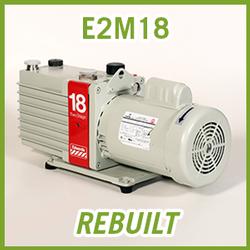 Edwards E2M18 Two Stage Vacuum Pump - REBUILT