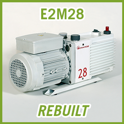 Edwards E2M28 Two Stage Vacuum Pump - REBUILT