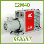 Edwards E2M40 Two Stage Vacuum Pump - REBUILT