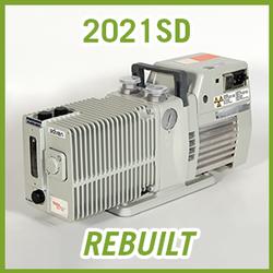 Pfeiffer Adixen Alcatel 2021SD Pascal Vacuum Pump - REBUILT