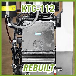 Tuthill Kinney KTC-112 Rotary Piston Vacuum Pump - REBUILT