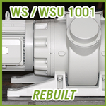 Leybold RUVAC WS / WSU 1001 Vacuum Blower - REBUILT