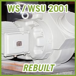 Leybold RUVAC WS / WSU 2001 Vacuum Blower - REBUILT