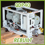 Edwards QDP40 Dry Vacuum Pump - REBUILT