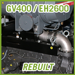 Edwards GV400 / EH2600 Vacuum Blower Package - REBUILT