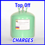 Brooks Polycold Systems Refrigerant Top Off Charges