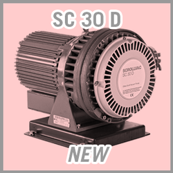 Leybold SCROLLVAC SC 30 D Dry Scroll Vacuum Pump - NEW