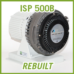 ANEST IWATA ISP 500B Dry Scroll Vacuum Pump - REBUILT