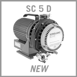 Leybold SCROLLVAC SC 5 D Dry Scroll Vacuum Pump - NEW