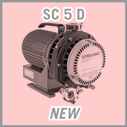 Leybold SCROLLVAC SC 5 D Dry Scroll Vacuum Pump - NEW