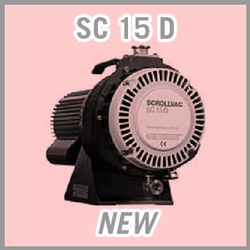 Leybold SCROLLVAC SC 15 D Dry Scroll Vacuum Pump - NEW