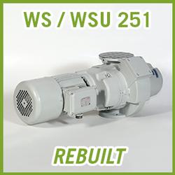 Leybold RUVAC WS / WSU 251 Vacuum Blower - REBUILT