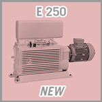 Leybold E 250 Rotary Piston Vacuum Pump - NEW