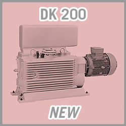 Leybold DK 200 Rotary Piston Vacuum Pump - NEW