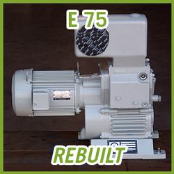 Leybold E 75 Rotary Piston Vacuum Pump - REBUILT