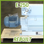 Leybold E 250 Rotary Piston Vacuum Pump - REBUILT