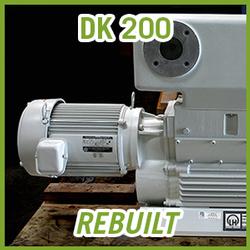 Leybold DK 200 Rotary Piston Vacuum Pump - REBUILT